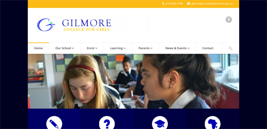 Gilmore college school online marketing